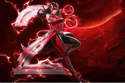 Marvel War Scarlet Witch Wallpapers Chromebook 4k