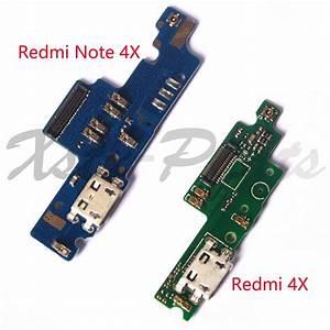 1pcs For Xiaomi Redmi Note 4x Note4x    Redmi 4x Usb Dock Connector Charging Port Flex Cable Usb