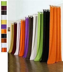 Vorhang Gelb Blickdicht : vorhang blickdicht schlaufenschal aus microsatin matt kr uselband ~ Markanthonyermac.com Haus und Dekorationen