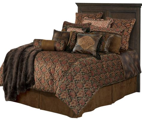 western comforter sets with faux leather comforter set