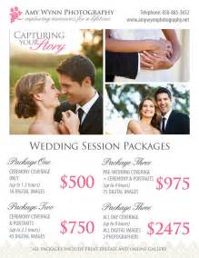 average price of wedding photographer wedding photography price sheet templates on creative market