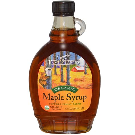 Coombs Family Farms, Organic Maple Syrup, 12 fl oz (354 ml)   iHerb.com