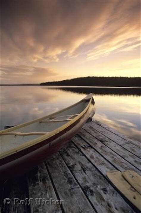 canoe sunset photo information