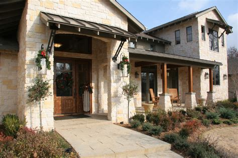 hill country house craftsman exterior other