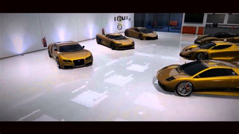 gold super car garage   woke     bugatti gta  gta   grand theft auto