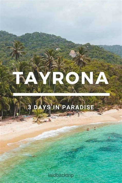 ultimate guide to tayrona national park colombia