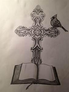 Christian Cross Tattoo Design by jbrittonart on DeviantArt