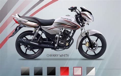 Tvs Max 125 Image by 2015 Tvs 125 Cherry White