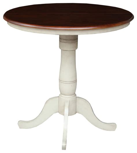 round tables with leaf extensions 36 quot round extension table with 12 quot leaf traditional