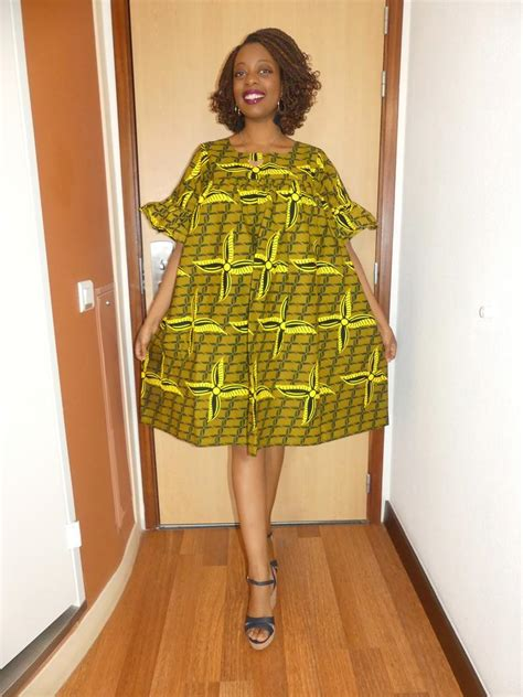 Robe Wax Africain Robe Le Femme Robe Africaine Tissu Wax Robe Pagne Pagne Etsy