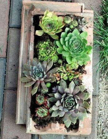 Garten Gestalten Mit Dachziegeln by Alte Dachziegel Als Gartendeko Nutzen Garten Roof