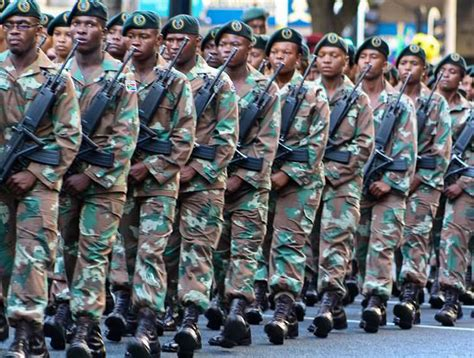 Top 20 Most Powerful Militaries In Africa 2016
