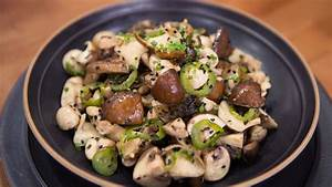 Raw Mushroom Salad with Sesame-Ginger Brown Butter - TODAY.com