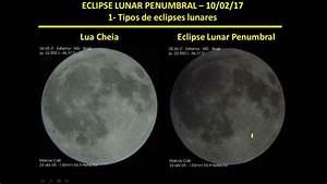 Eclipse lunar penumbral 10/2/2017 - YouTube