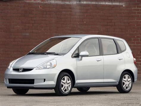 Honda Fit Mpg by 2007 Honda Fit Hatchback Specifications Pictures Prices
