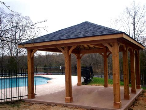 free standing wood patio cover kits wood patio cover plans free home design ideas