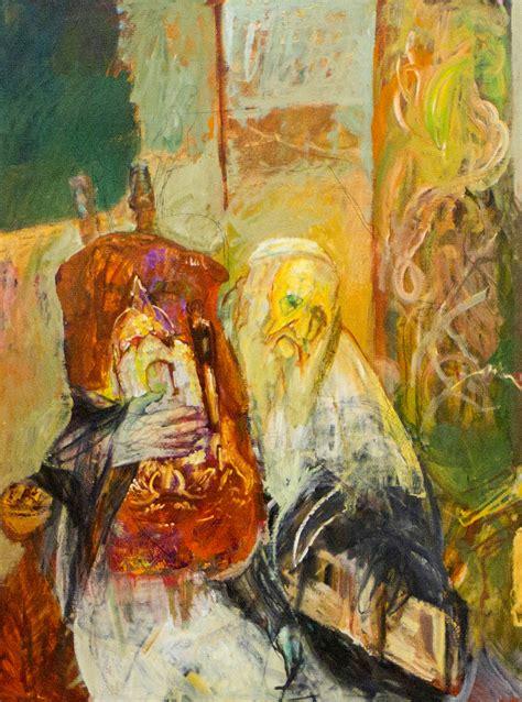 hyman blooms rabbi paintings  white box nytimescom