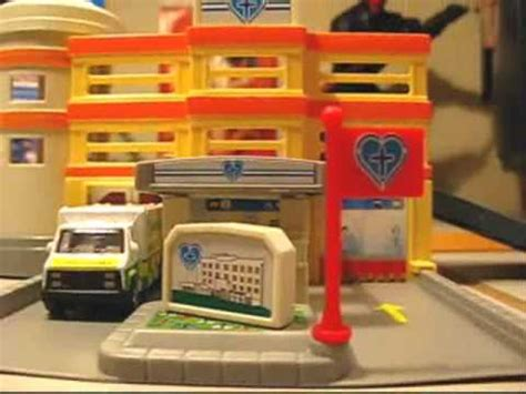 motor max dyna city hospital modular building playset