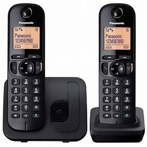 New Panasonic Twin Cordless Dect Phone With Call Block In