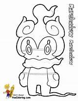 Pokemon Coloring Marshadow Sun Tapu Lele Printables Kleurplaat Printable Zeraora Colorare Yescoloring Disegni Coloriage Stampare Rockruff Bulu Anime Otaku Potent sketch template