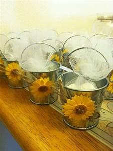 sunflower wedding favor sunflower royal blue wedding With sunflower wedding favor ideas