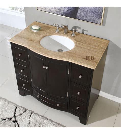 traditional 40 single bathroom vanities vanity sink kb703 bathimports 70 vessels