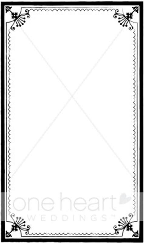 formal border clipart wedding borders