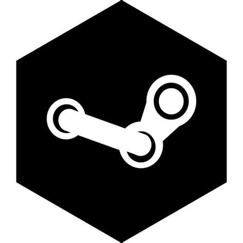 Hexagon, media, social, steam icon - Free download