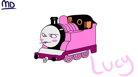 the tank engine oc by maybedream on deviantart