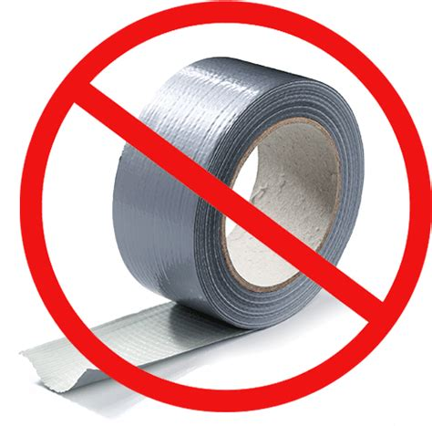 adhesive tapes       duct tape