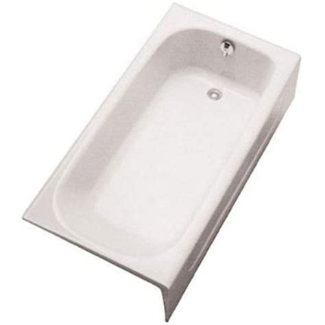 toto bathtubs cast iron toto fby1515rpno 12 enameled cast iron bathtub sedona