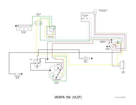 vespa vl wiring diagram by et3px et3px issuu