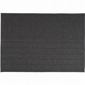 tapis torsade anthracite exterieur toulemonde bochart With prix tapis toulemonde bochart
