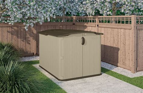Horizontal Shed by Horizontal Storage Sheds Outdoor Quality Plastic Sheds