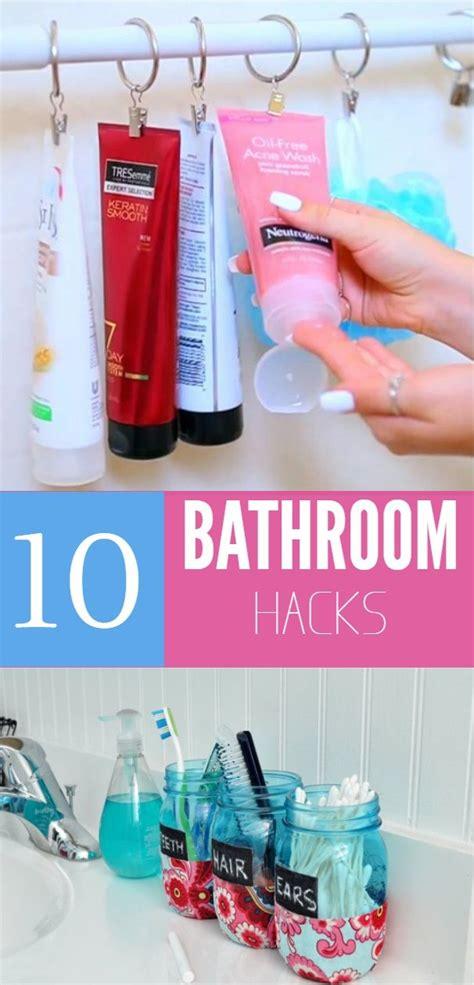 17 Best Ideas About Bathroom Hacks On Pinterest Diy