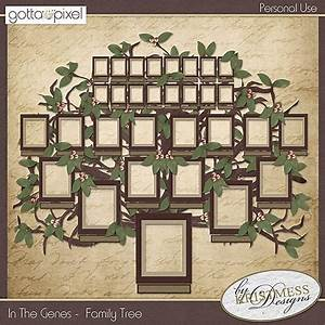 Family Tree Shop : in the genes tree builder gotta pixel digital scrapbook store family history pinterest ~ Bigdaddyawards.com Haus und Dekorationen