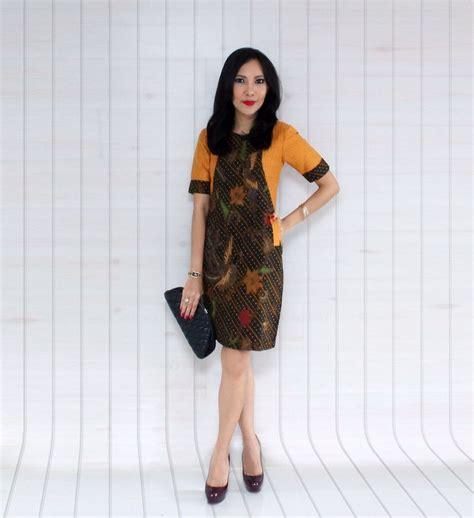 batik coletan combi tenun rangrang by deculture kebaya pakaian pakaian inspirasi