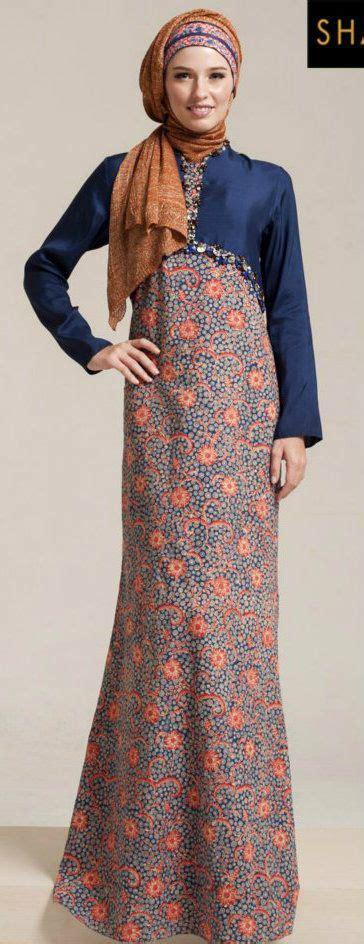 gamis batik images  pinterest hijab styles