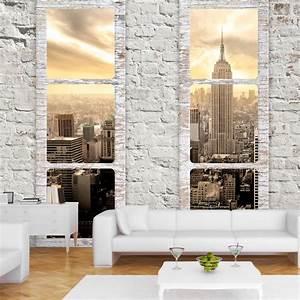 Wand Poster New York : fototapete new york city fensterblick stadt vlies tapete wandbilder c a 0066 a b ebay ~ Markanthonyermac.com Haus und Dekorationen