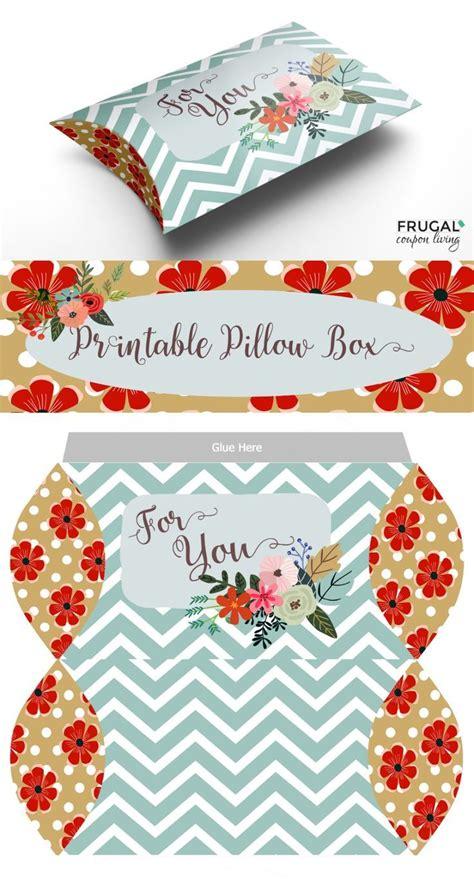 print  fold pillow box craft pillow box pillow