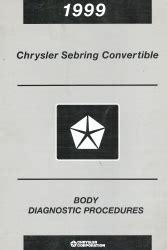 on board diagnostic system 2004 chrysler sebring head up display 1999 chrysler sebring convertible body diagnostic procedures