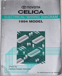 1994 Toyota Celica Electrical Wiring Diagrams Original