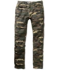 Camo Pants Skinny Jeans