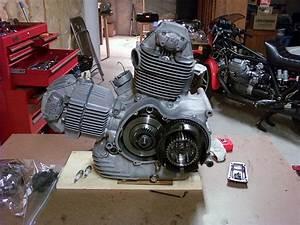 Gt 750 Engine Polishing - Ducati Ms