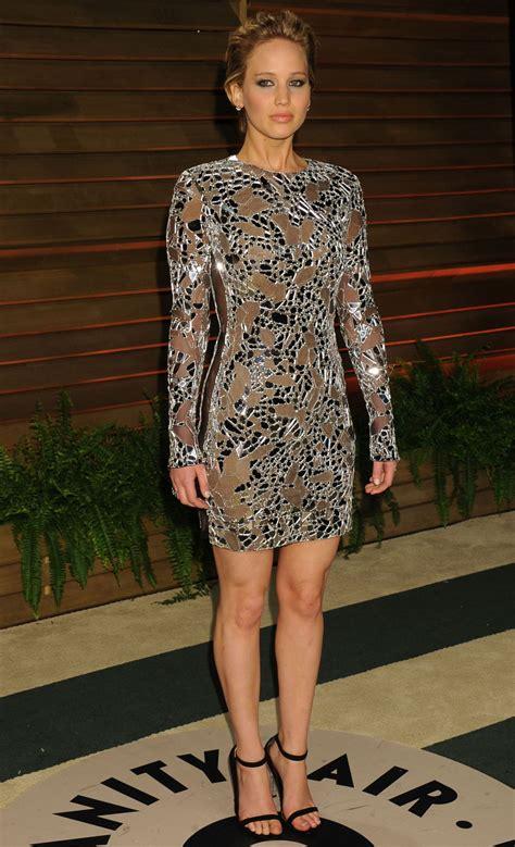 Jennifer Lawrence In Tom Ford Mini Dress 2014 Vanity