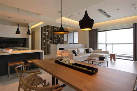 salon cuisine design cuisine ouverte sur salon en 55 idées 39 39 open space 39 39 superbes