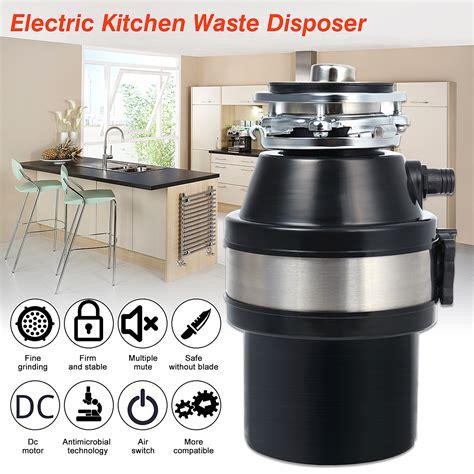 kitchen sink food waste disposer 370w 220v waste disposer food garbage sink disposal 8489