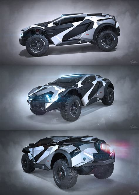 unofficial concept car designs     real