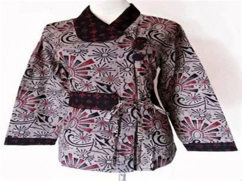 model dress baju batik 23 model baju sasirangan untuk kerja wanita modern