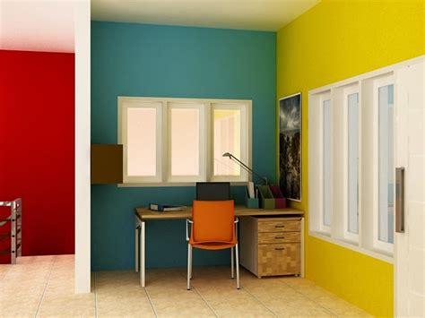 Contoh Kombinasi Warna Cat Rumah Minimalis Modern Desain